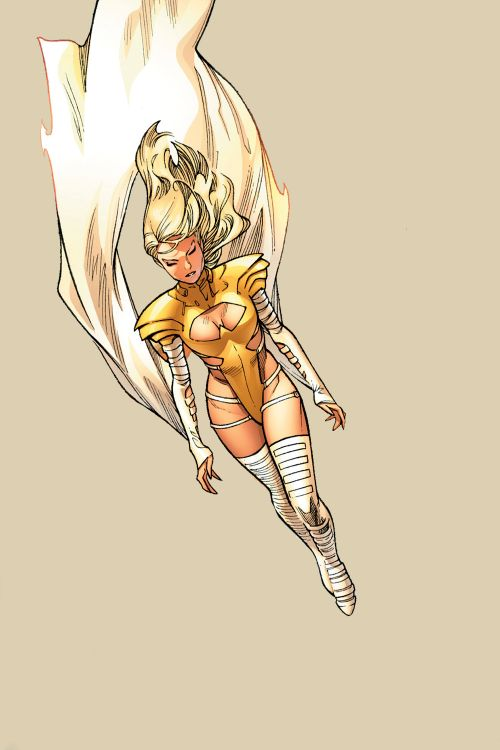 Phoenix Force Emma Frost in Avengers vs X-Men #6