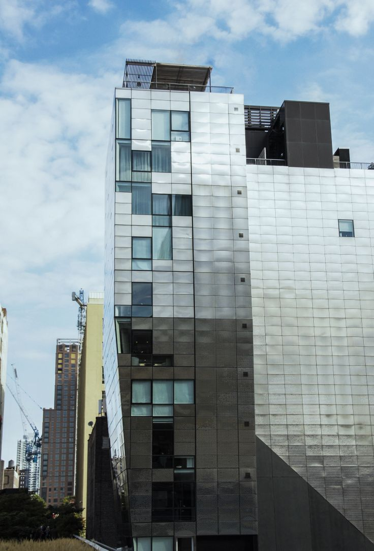 Architecture by the New York Highline