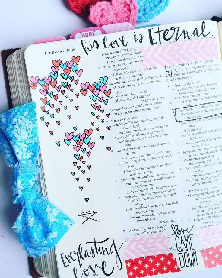 Bible Journaling by @maker_mom