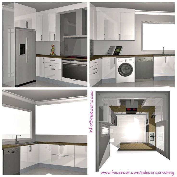 3D illustrations done for a client who wishes to make proposed kitchen renovations www.facebook.com/indecorconsulting