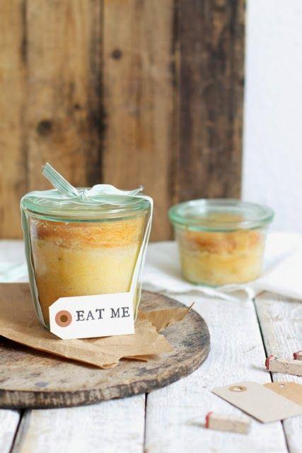 Lykkelig - mein Foodblog: Der für-die-liebsten-Freunde-Kuchen: Beschwipster Apfelkuchen im Glas.