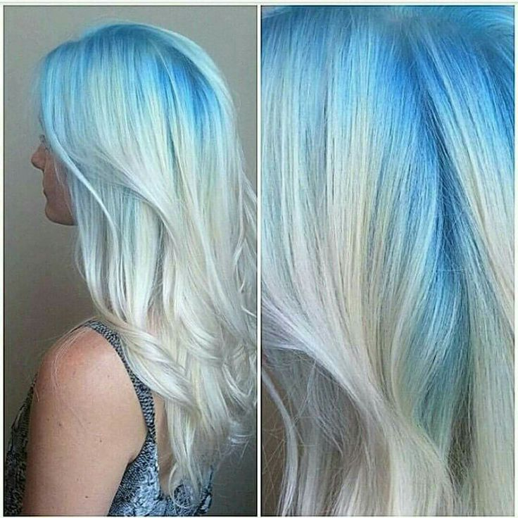 25 beautiful blonde and blue hair ideas on pinterest pastel hair inspiration this blue blonde melt waves look is so beautiful can be achieved using pmusecretfo Choice Image