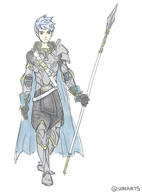 Hold on, is this Jack Frost as a Lord class from Fire Emblem??