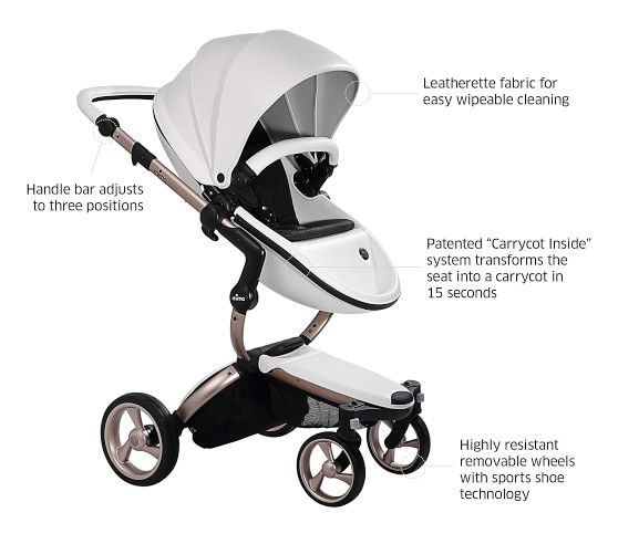 Mima Xari Baby Stroller | Pottery Barn Kids | Stroller ...