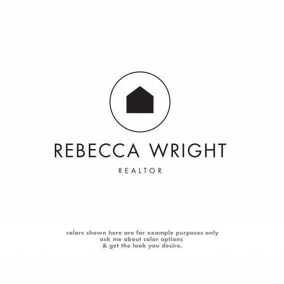 Realtor Logo Minimalist, Real Estate Logo Design, Premade ...