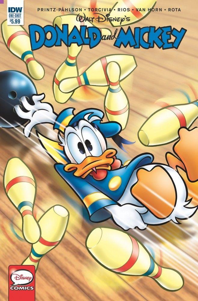 Donald /& Mickey Treasure Archipelago #1 Cover B NM 2017 IDW Vault 35