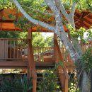 Ruffles Lodge - Raised Gazebo - 5 Star Accommodation Gold Coast
