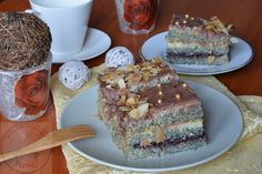 Ciasto z makiem i kremem budyniowym - Kulinarna Maniusia