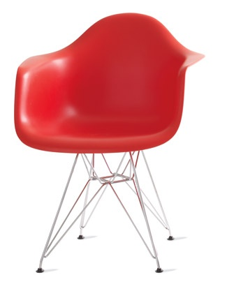 Eames Molded Plastic Arm Chair