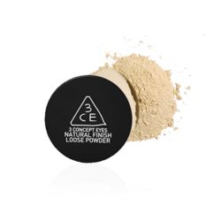 Set your makeup with this Loose Powder from 3CE and it'll surely last the whole day!  http://www.offtherack.asia/products/1430