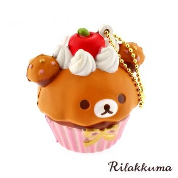 Squishy Cupcake : Rilakkuma cupcake squishy Products I Love Pinterest Colors, The o'jays and Products