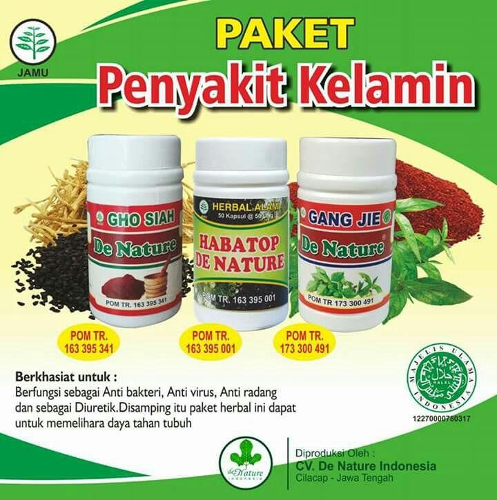 Paket obat penyakit kelamin sipilis raja singa gonore kencing nanah herbal de nature indonesia. dapatkan di https://denature.id atau hubungi 081321727234