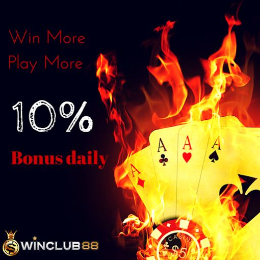 Win More And pay Less With Winclub88asia. Get your 10% Daily Deposit Bonus Today  #Winclub88 #Sports #Gaming