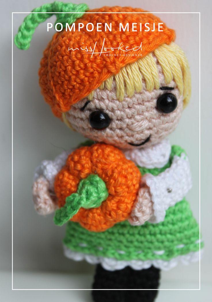 Kijk wat ik gevonden heb op Freubelweb.nl: een gratis haakpatroon van Mrs. Hooked om dit leuke pompoenmeisje te maken https://www.freubelweb.nl/freubel-zelf/gratis-haakpatroon-pompoenmeisje-2/