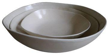Nesting Serving Bowls, Set of 3 transitional-serving-and-salad-bowls