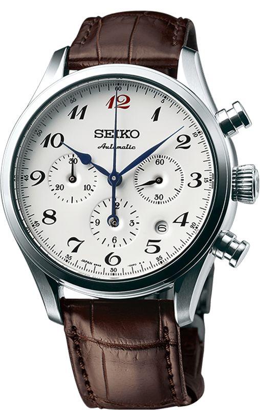 Seiko Watch Presage 60th Anniversary Mechanical Chronograph Pre-Order
