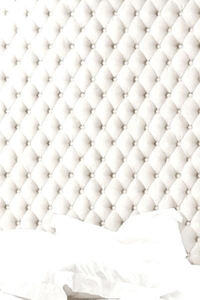 blanc white tufted headboard