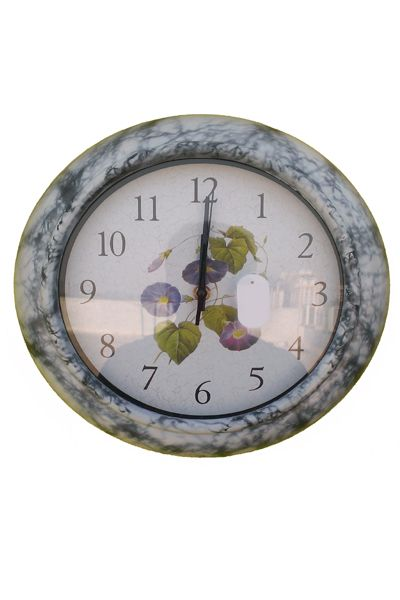 Purple Flower Designer Wall Clock  www.fashiongroop.com