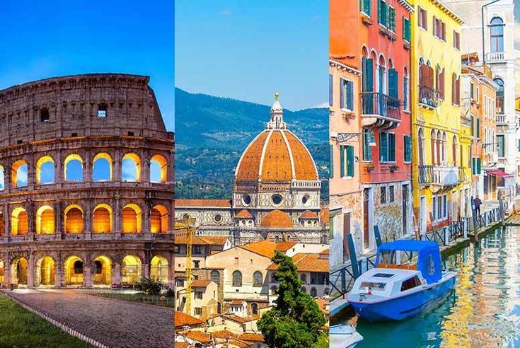 Discount Italian Adventure with Flights - Visit Rome, Florence & Venice! for just £179.00 Where: Rome, Florence and Venice.   What's included: Six-night break with two nights in Rome, Florence and Venice, train transfers between cities and return flights from London Stansted, Luton, Gatwick, Manchester, Bristol and Edinburgh.   Hotels: Stay in a slection of 3* and 4* hotels across these...