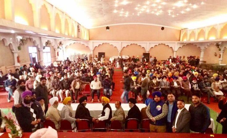 Huge support of people for Shiromani Akali Dal candidate Gurmeet Singh Kular in Atam Nagar constituency. #MissionFateh2017 #AkaliDal #ProudToBeAkali