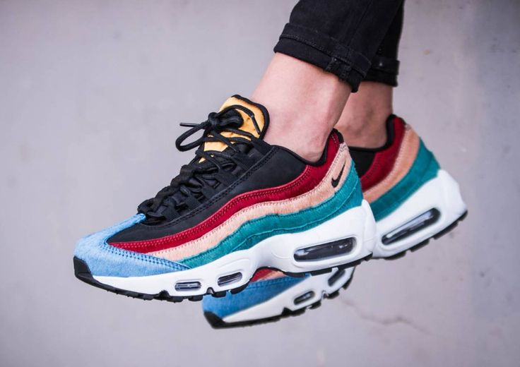 avis-basket-nike-wmns-air-max-95-premium-pony-hair-multicolor