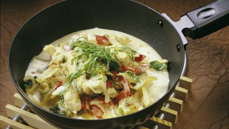 Thai-wok med kylling