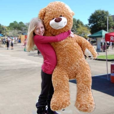 Carnival Savers - Giant Stuffed Teddy Bear $59.95, $59.95 (http://www.carnivalsavers.com/catalog/item/8519292/7735505.htm)
