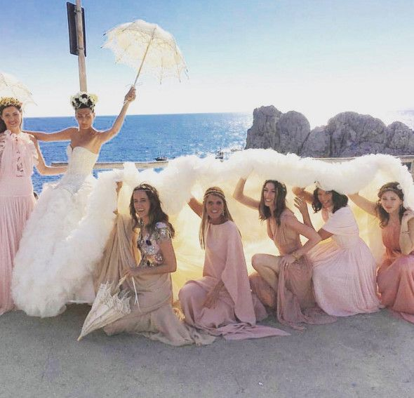 Giovanna Battaglia - Celebrity Wedding Dresses - Photos