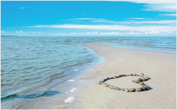 Beach Heart Love Wallpaper | beach heart love wallpapers phone