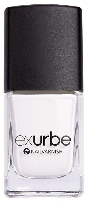 White Wedding  – veganer Nagellack von exurbe cosmetics. Vegan nail polish.
