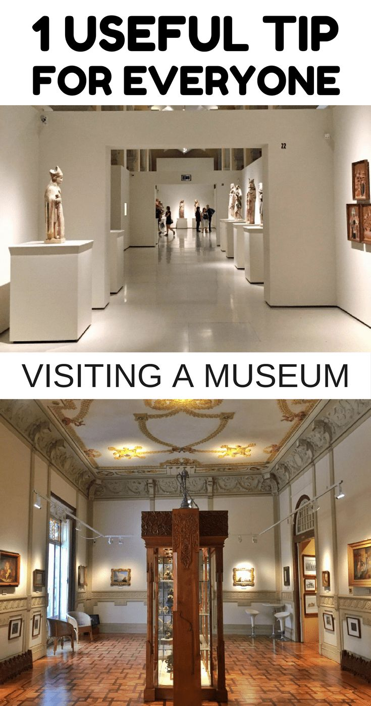 Seems a bit weird providing tips for visiting a museum, but this made my experience so much more enjoyable and worthy.