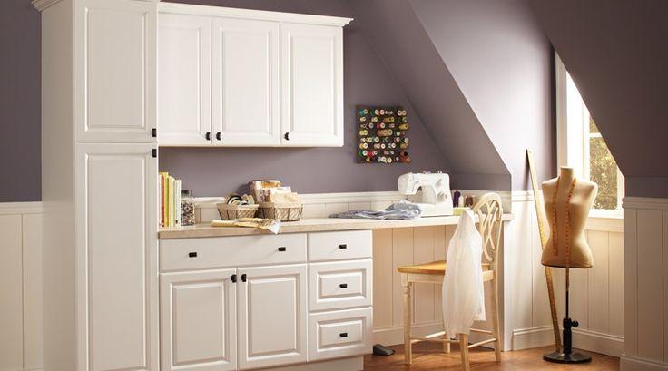 Hampton Satin White Cabinets Use In The Sewing Room Sunporch Pinterest Satin Bonus Rooms