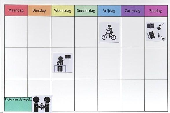planbord thuis maken l Oefenen voor school.nl