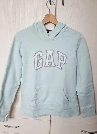 Kup mój przedmiot na #vintedpl http://www.vinted.pl/damska-odziez/bluzy/16733114-bluza-przez-glowe-z-kapturem-blekitna-damska