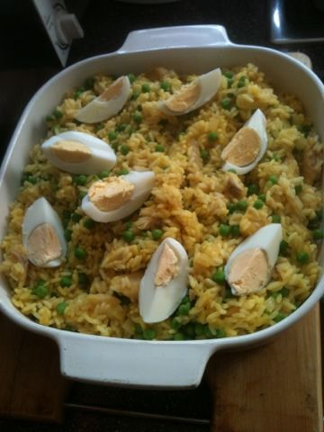 Vicki-Kitchen: Kedgeree (Slimming world friendly)