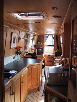 narrowboat interior  www.canalrivertrust.org.uk