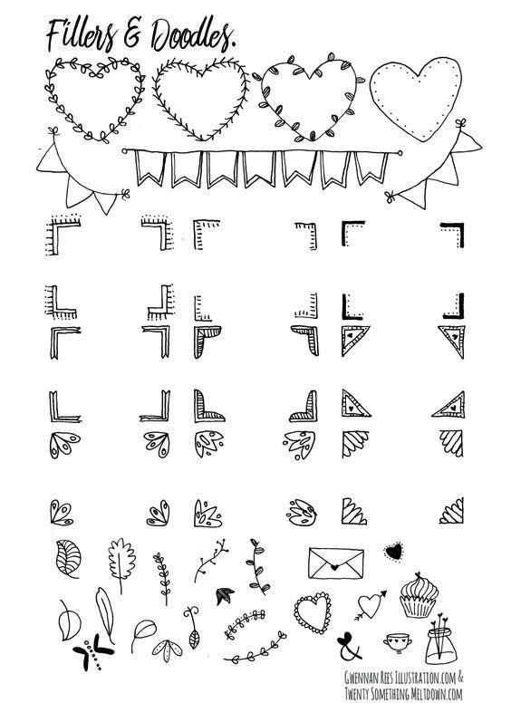Free Bullet Journal Printables from Twenty Something Meltdown