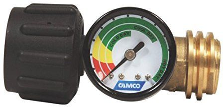 Camco 59023 Propane Cylinder Gas Gauge and Leak Detector