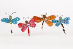 Beaded Mini Dragonflies www.wildhope.ca $7.00