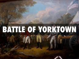 Image result for battle at yorktown