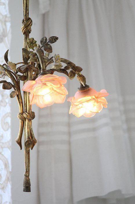 Antique chandelier France