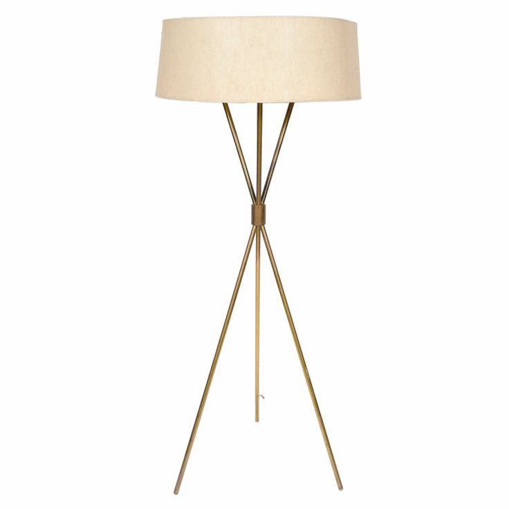 1000 Ideas About Brass Floor Lamp On Pinterest Floor