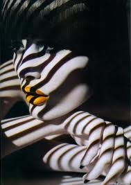 Solve Sundsbo photography clever play on shadows and love the yellow lips #photography