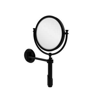 Allied Brass Universal Extendable Mirror Magnification: 3x, Finish: Matte Black