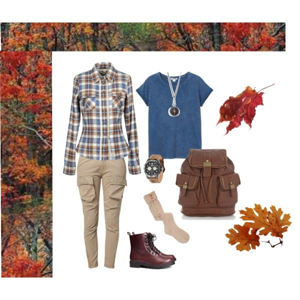 """Fall Hiking Outfit"" by jumsgirl on Polyvore"