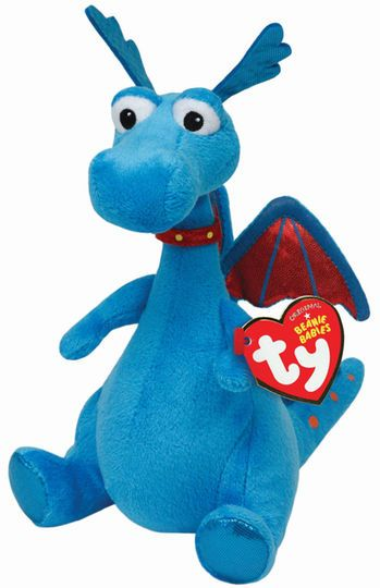 Ty Original Beanies Babies Stuffy Dragon, Regular