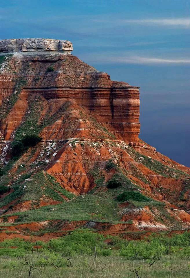 Gloss Mountain State Park in Major County, Oklahoma, near Fairview