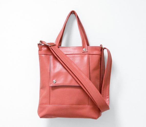 Perfect purse. Love the color most of all. $173Coral Pink, Crosses Body Bags, Colors Corner, Leather Handbags, Sea Coral, Packets, Pink Leather, Accessories, Things Coral