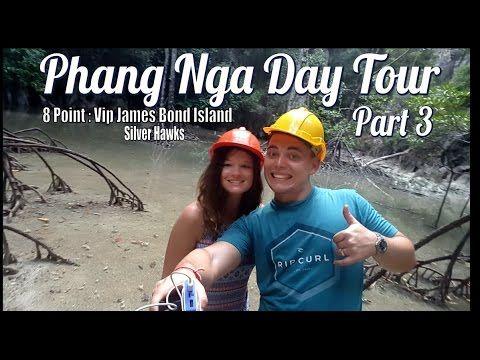 Phang Nga Bay Tour | 8 Point: James Bond Island Plus Sunset| Part 3