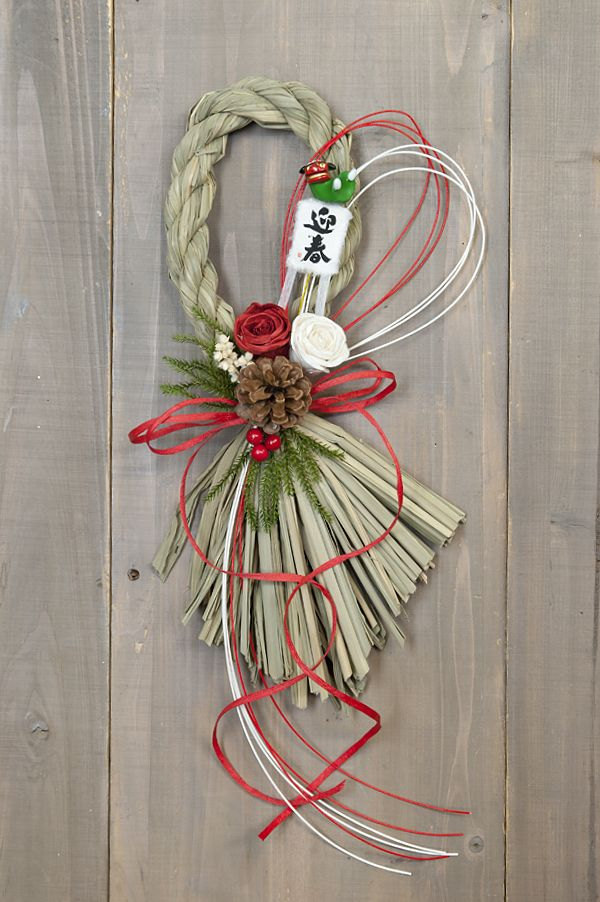 Japanese new year's wreath